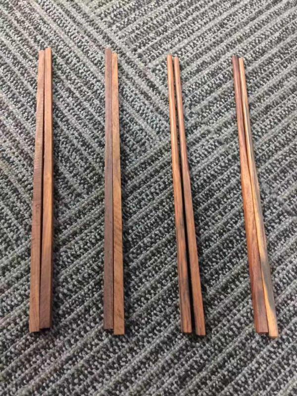 大红酸枝筷